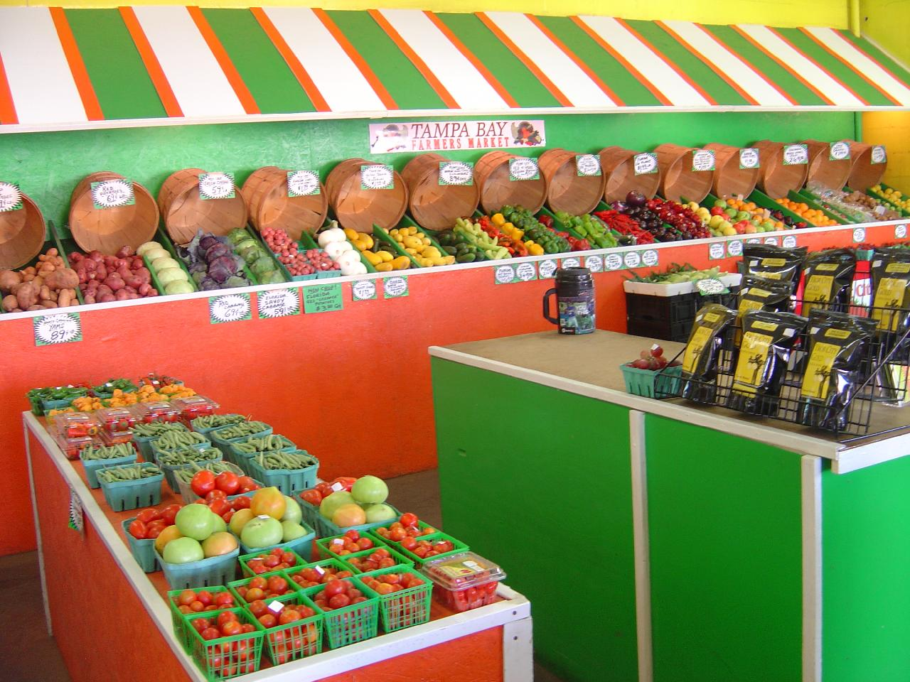 Farm Fresh Fruits, Vegetables, Cut Flowers, Potted Plants, Gifts & More.