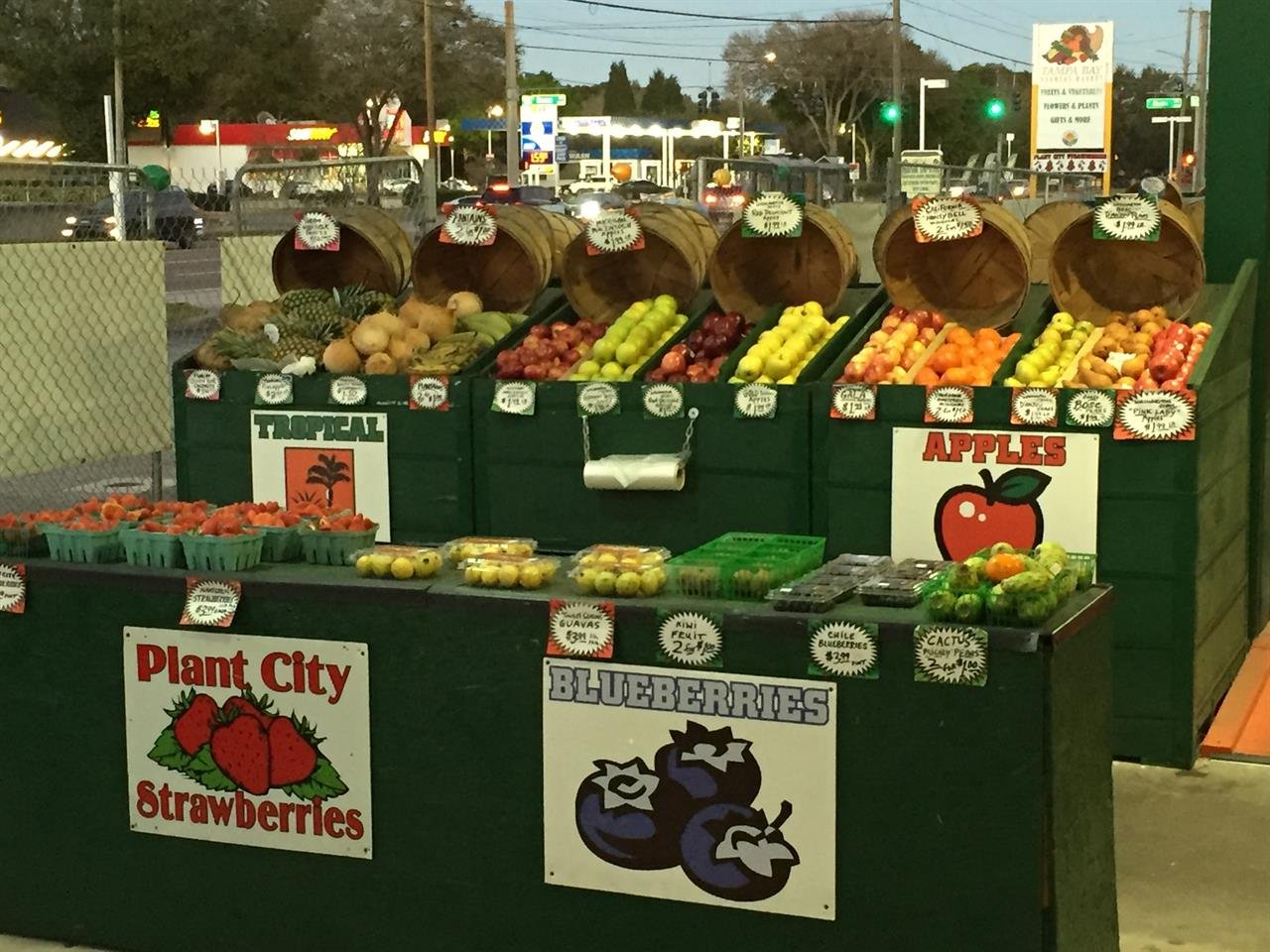 Farm Fresh Fruits & Vegetables