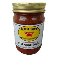 12 oz. Old Florida Gourmet Blue Crab Mild Salsa