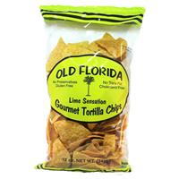 12 oz. Old Florida Gourmet Lime Sensation Tortilla Chips