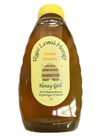 1 lb. Honey Girl Orange Blossom Honey