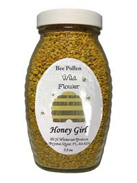 7.5 oz. Honey Girl Wildflower Bee Pollen