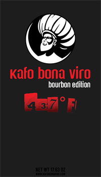 1.1 lbs. Kafo Bona Viro 437˚F Ground Coffee