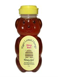 12 oz. Bear Honey Girl Allergy Blend Honey
