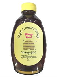2 lbs. Honey Girl Allergy Blend Honey