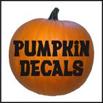 Pumpkin Decals