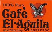 10 oz. Cafe El Aguila Ground Coffee
