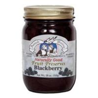 18 oz. Amish Wedding Foods Blackberry Preserves