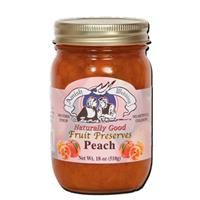 18 oz. Amish Wedding Foods Peach Preserves