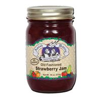 18 oz. Amish Wedding Foods Strawberry Jam