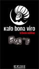 1.1 lbs. Kafo Bona Viro 426˚F Ground Coffee