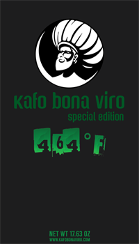 1.1 lbs. Kafo Bona Viro 464˚F Ground Coffee