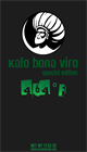 1.1 lbs. Kafo Bona Viro Guji Ground Coffee