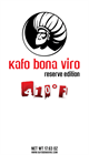 1.1 lbs. Kafo Bona Viro Winter Blend Ground Coffee