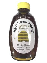 2 lbs. Fotis Bees Orange Blossom Honey