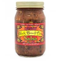 16 oz. Reva Foods Black Bean & Corn Salsa