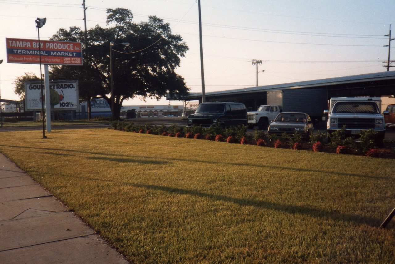 Front View of the Tampa Bay Produce Building