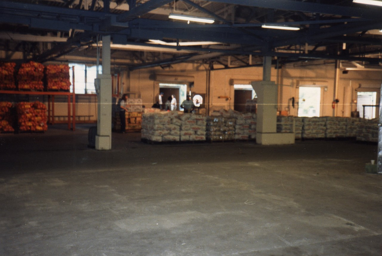 Interior View of the Tampa Bay Produce Building
