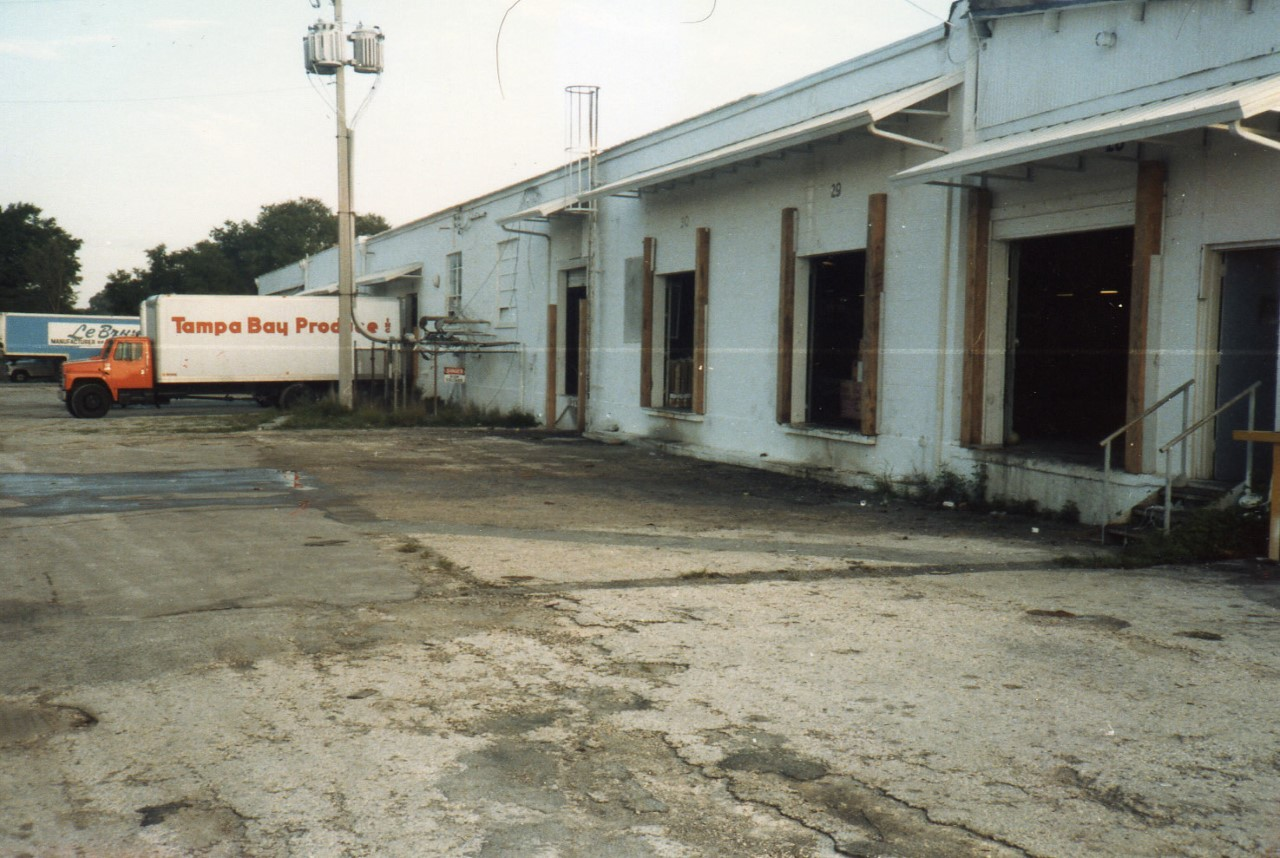 Back View of the Tampa Bay Produce Building