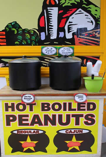 Hot Boiled Peanuts
