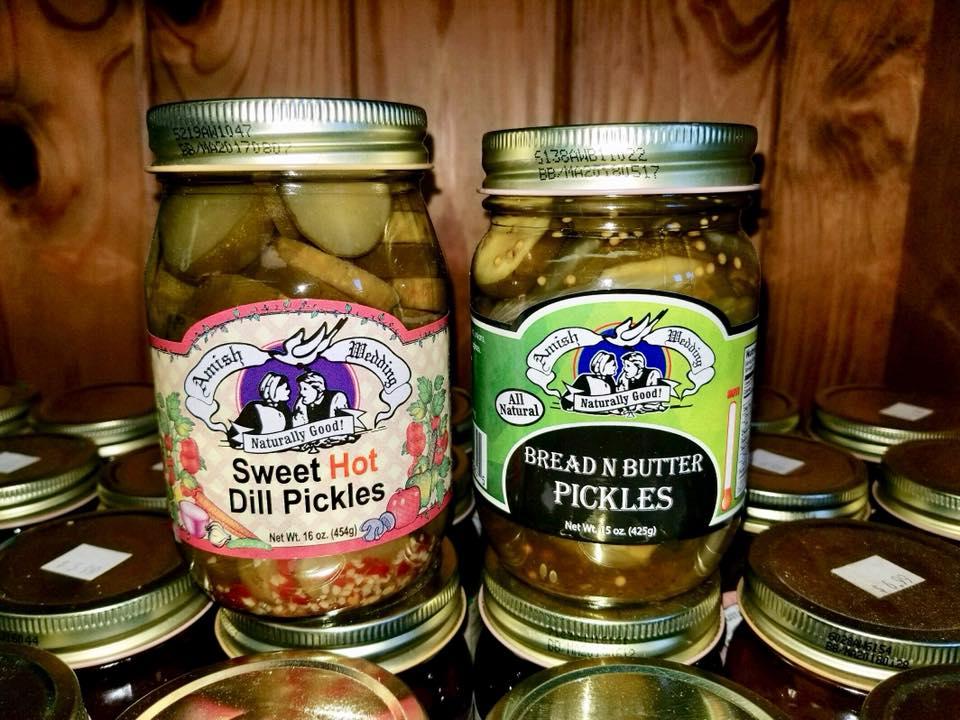 Amish Wedding Foods Pickles