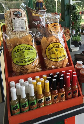 Old Florida Gourmet Tortilla Chips & Howler Monkey Hot Sauce